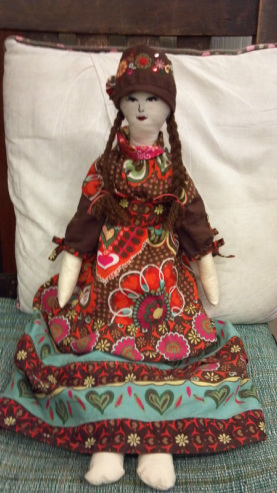 Bohemian Rag Doll by Yarrow Summers