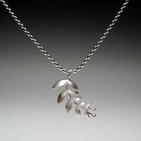 Tara Turner Sterling Silver Euphorbia Necklace